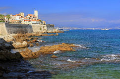 Capuchon d'Antibes, sur la Riviera 097 Photo stock