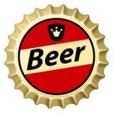 Capuchon de bière illustration stock
