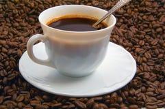 Capuchon de café Photos stock