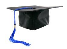 Capuchon de graduation Photographie stock libre de droits