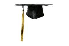 Capuchon de graduation Image stock