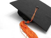 Capuchon de graduation Photos stock