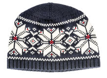 Capuchon de l'hiver Image stock