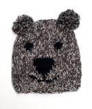 Capuchon de laine drôle Images stock
