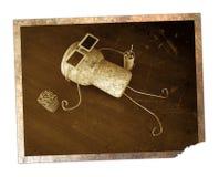 Capuchon de liège Image libre de droits