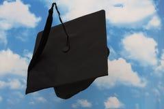 Capuchon de projection de graduation Photo stock