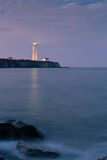 Capuchon-DES-Rosiers phare 1 Photographie stock