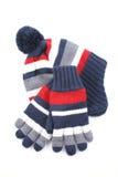 Capuchon et gants image libre de droits