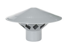Capuchon protecteur de pipe de ventilation photos libres de droits