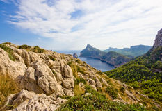Capuchon sur Majorca Photos stock