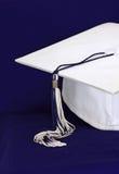 Capuchon traditionnel de graduation Photo stock