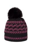 Capuchon tricoté avec un pompon Images stock