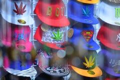 Capuchons colorés Images libres de droits