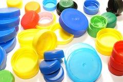 Capuchons colorés image stock