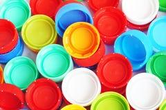 Capuchons de la bouteille Image libre de droits