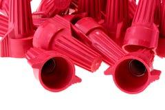 Capuchons en plastique Image stock