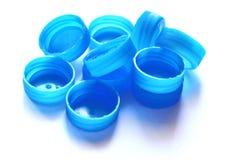 Capuchons en plastique Photo libre de droits