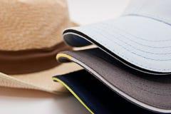 Capuchons et chapeau Image stock