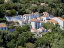 Capuchos女修道院  免版税库存图片