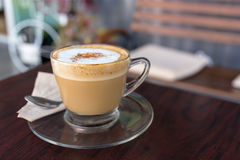 Capucino coffee Stock Photography