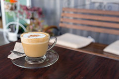 Capucino coffee Royalty Free Stock Photo