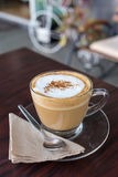 Capucino coffee Stock Image