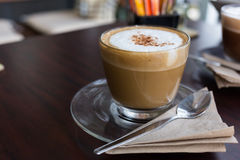 Capucino coffee Royalty Free Stock Photos
