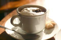 Capucino `van de koffie ` Stock Afbeelding