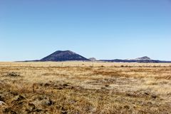 Capulin Volcano. The extinct Capulin Volcano as seen from a distance Stock Image