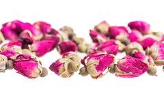 Capullos de rosa secados Fotografía de archivo