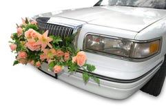 Capuz de uma limusina magnífica Foto de Stock