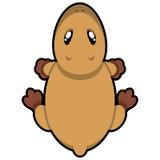Capybara de la historieta Imagenes de archivo