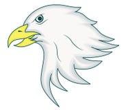 Carácter de Eagle Head Mascot Cartoon Animal Imagen de archivo libre de regalías