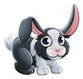 Carácter del animal del conejo de la historieta stock de ilustración