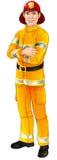 Carácter del bombero Foto de archivo libre de regalías