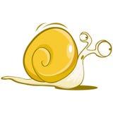 Carácter del caracol Imagen de archivo libre de regalías