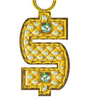 Carácter del dinero Fotos de archivo libres de regalías