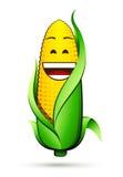 Carácter del maíz en la mazorca stock de ilustración