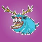 Carácter del monstruo de los ciervos Foto de archivo