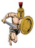 Carácter espartano Foto de archivo libre de regalías