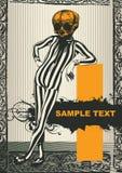 Carácter grotesco Foto de archivo libre de regalías