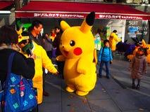 Carácter japonés del animado Fotos de archivo libres de regalías