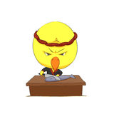 Carácter lindo del polluelo Imagen de archivo libre de regalías