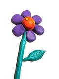 Carácter sonriente de la flor Fotos de archivo libres de regalías