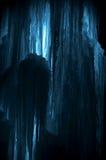 Carámbanos enormes del hielo Foto de archivo