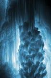 Carámbanos enormes del hielo Fotografía de archivo libre de regalías