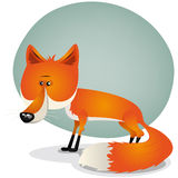 Caráter bonito do Fox Imagens de Stock