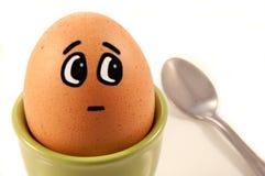 Caráter cómico do ovo imagem de stock royalty free