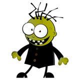 Caráter cómico do zombi Fotografia de Stock