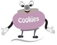 Caráter da cookie Imagens de Stock Royalty Free